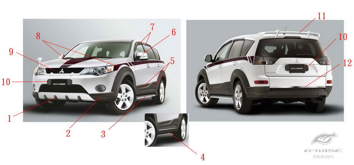 Designing of Car Appearance parts