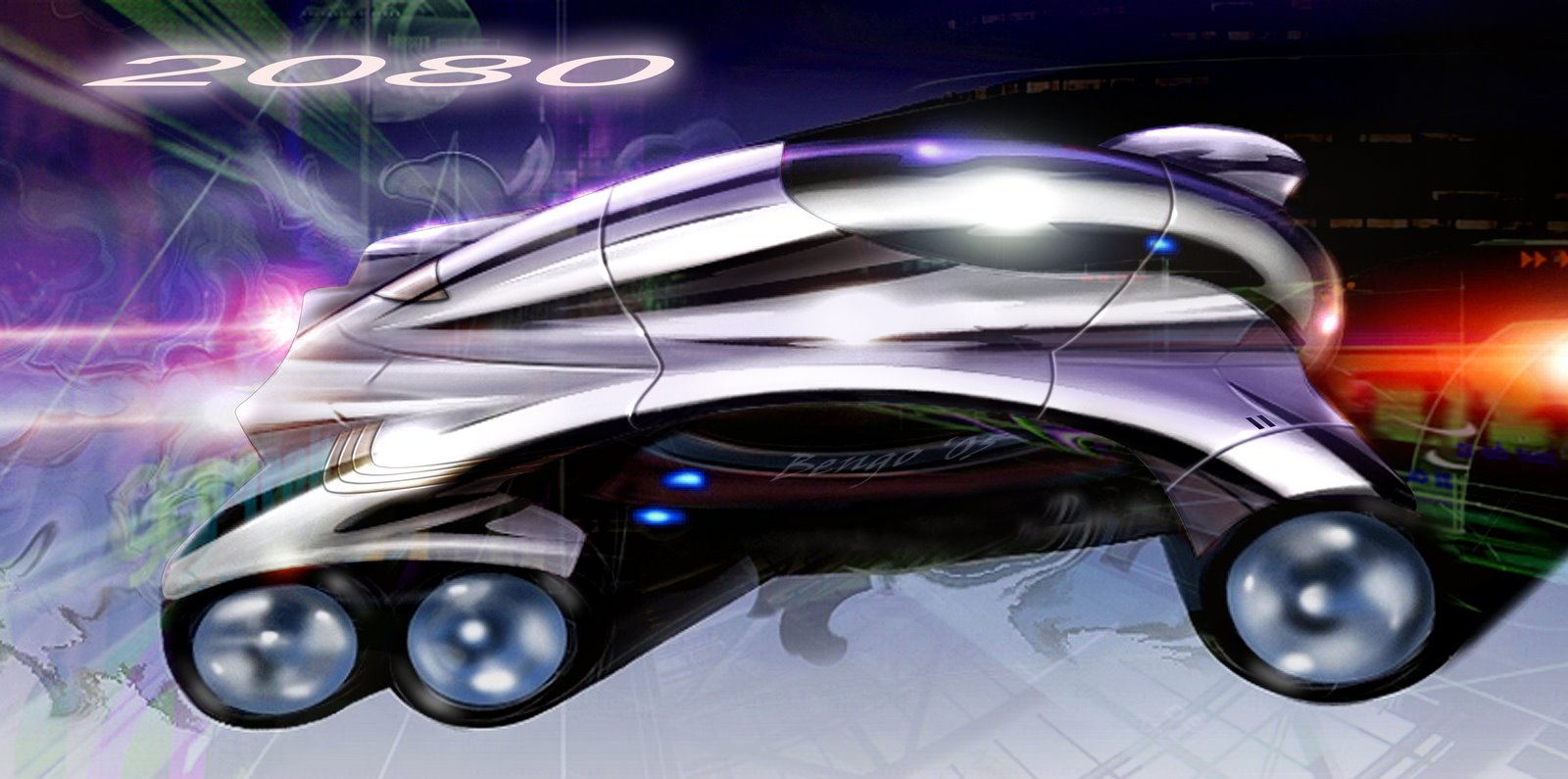 未来概念电动车设计